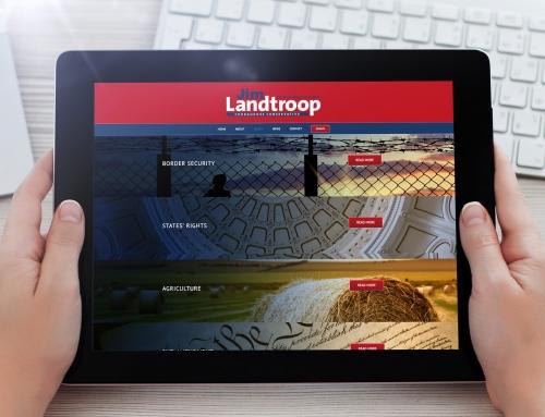 Jim Landtroop Campaign Website
